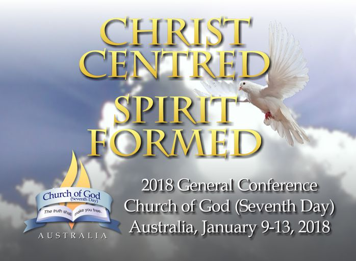 Conference theme Christ Centred Spirit Formed